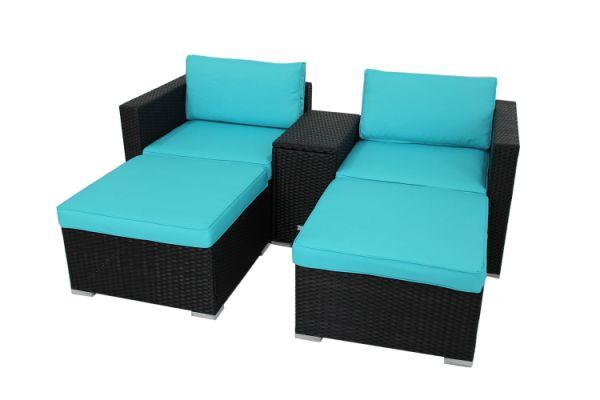 Shop For Outdoor Rattan Wicker Storage Box Function Sofa
