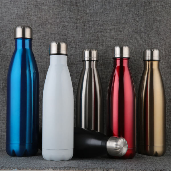 Premium Stainless Steel Thermos Double Walled Vacuum Bottle with Cap