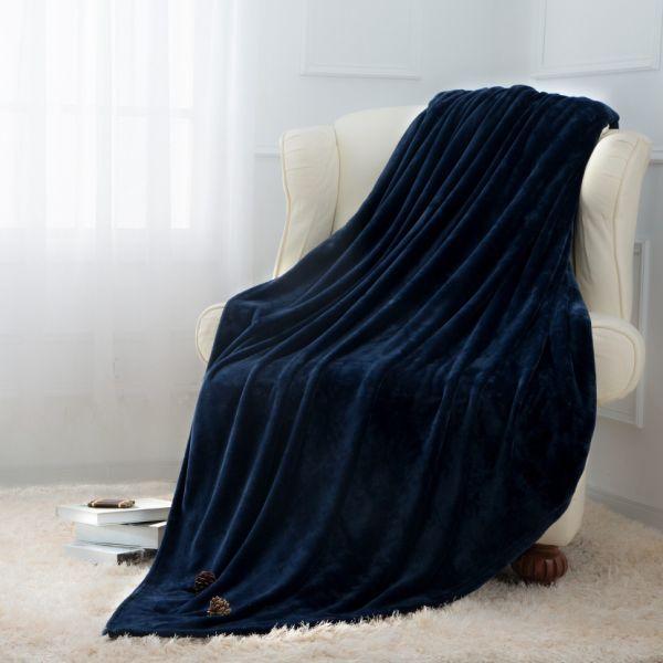 Shop For Moonen Flannel Blanket Luxurious Queen Size