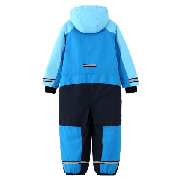 Kid's One Piece Snowsuits Overalls Ski Suits Jackets Coats Jumpsuits Winter Outdoor Waterproof Clothing Blue size 6