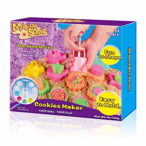 Color Motion Sand Cookies Maker 1 Piece / Box