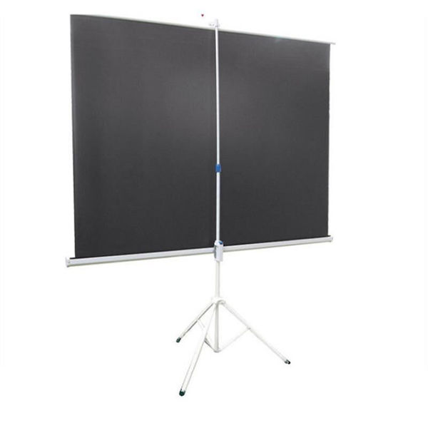 84inch 4:3 Format Tripod Portable Projection Screen HD Floor Foldable Stand  Strong Bracket Quality Matt White Screen Projector Tripod 1 Piece / Box