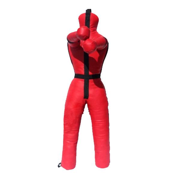 Brazilian Jiu Jitsu Straight Grappling Dummy Art Leather Boxing Judo MMA Black