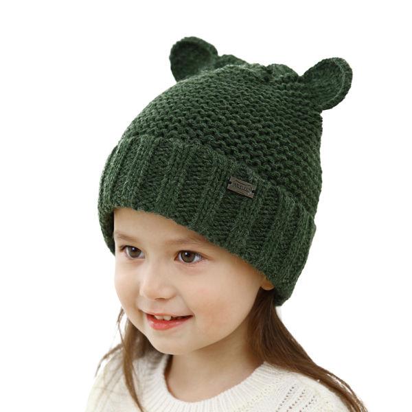 7c680a484b3 FURTALK Kids Toddler Bear Ear Caps Beanie Knit Winter Hat Boy Girl  Christmas HTWL083