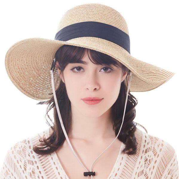 9ecfa04b2aefd5 Shop for FURTALK Summer Hat for Women Straw Hats Wide Brim Sun Beach ...