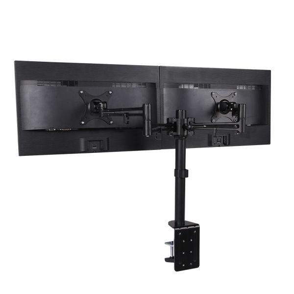 Shop For Loctek D2d Dual Monitor Arm Desk Mount Stands Fits Most 10