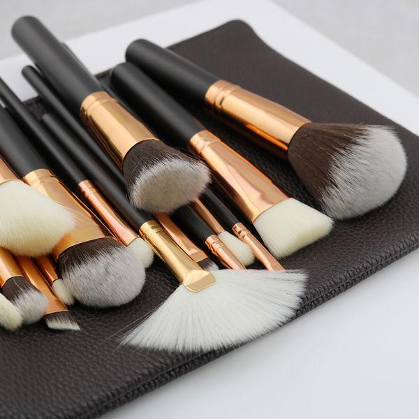 Shop for Hot Sale 15 PCS Luxury Complete Makeup Brush Set ...