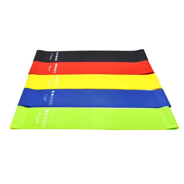 Super Popular Fitness Latex Exercise Yoga Workout Resistance Bands for Legs and Butt