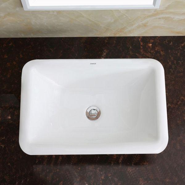 Shop for CHANGIE 1027W Bathroom Top Mount Vanity Sink ...