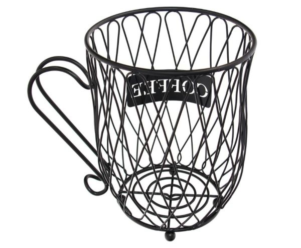Shop For Metal 20 K Cup Carousel Espresso Pod Holder And Iron Wire