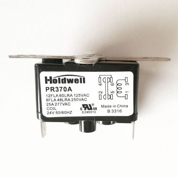 Holdwell SPST 90370 24 Volt Coil Fan Relay 1 Piece / Box on