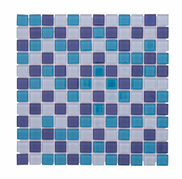 Shop for China Supply Glass Mosaic Bulu Mixed Colorful Square ...