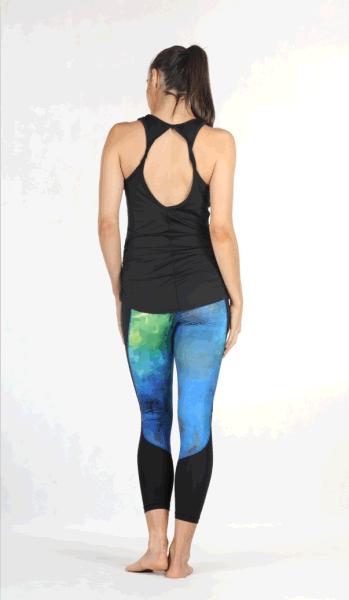 05a770c93d3 Icyzone Women's Yoga Tops Super Soft Knit Cowl Back Slim Fit Sports Tank  Top 1 Piece / Bag