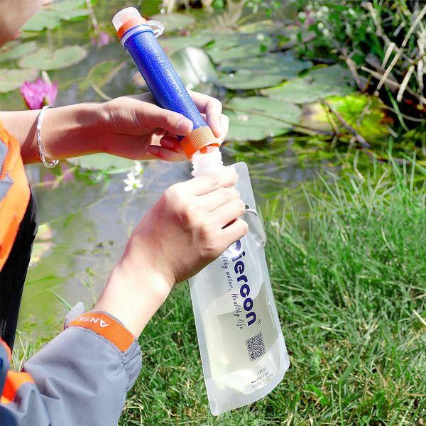 Diercon Mini Water Purifier Straw Kit