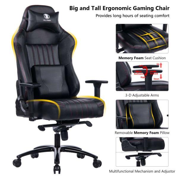 Shop For Killabee Big And Tall 400lb Memory Foam Gaming
