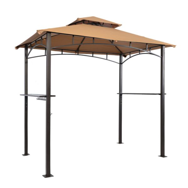 Suna Outdoor Patio Grill Gazebo 8 X 5 Ft Barbecue Bbq