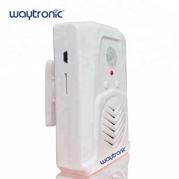 Wireless PIR Infrared Motion Sensor Welcome Ding Dong Voice Commercial Door Bell for Restaurant Supermarket Shop Store