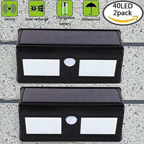 Shop For 40 Bright Led Solar Powered Security Outdoor