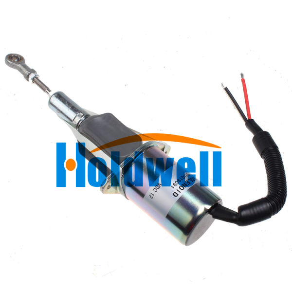 Holdwell Fuel Injection Control Fuel Shutoff Solenoid 1821019C91 12V for Navistar