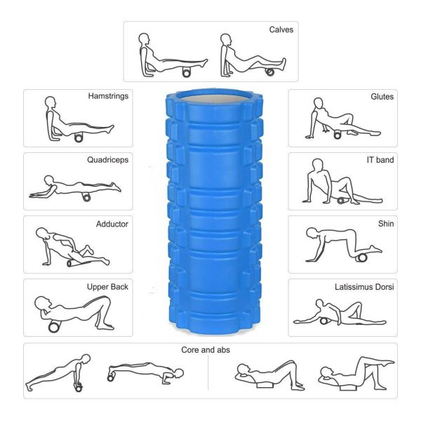 Shop For Yoga Foam Rollers Physical Therapy Trigger Point