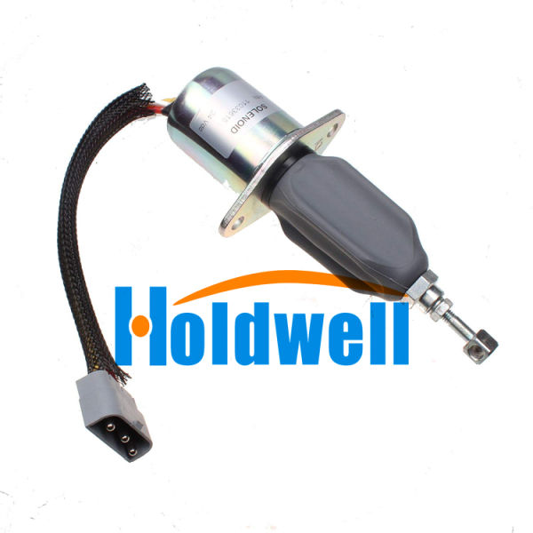 Holdwell Stop Solenoid 6785-5221 for Volvo Wheel Loaders L50C L180C L180 L50B