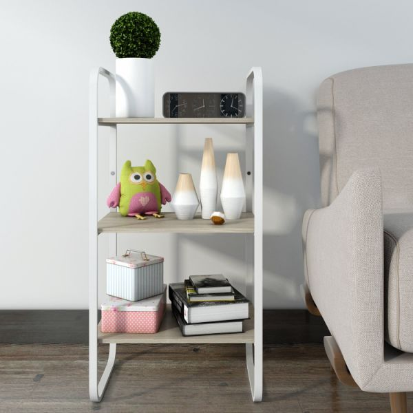 Shop For Lifewit 3-Tier Nightstand End Table, Shelving