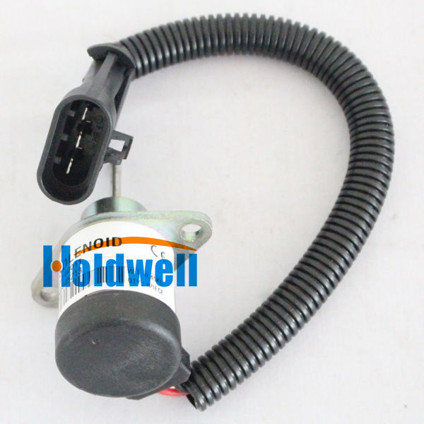 Holdwell Fuel Solenoid 7000769 for Bobcat S630 S650 T630 T650 S160 S185  S205 S550 S570 S590 T550 T590 1 Box / Box