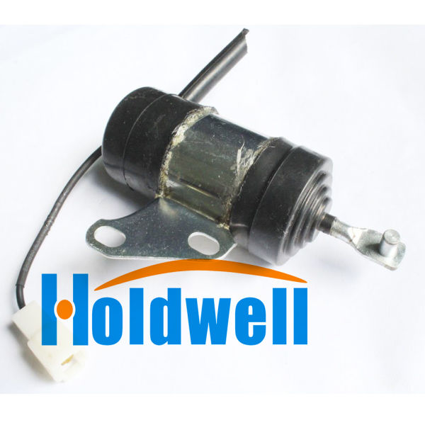 Holdwell Stop Solenoid for Kubota Tractor Mower Excavator Generator with  Kubota Z402 Z482 Z602 D722 D782 D902 Engine 1 Box / Box
