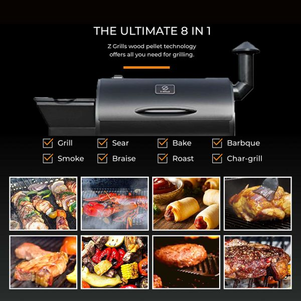 Shop For Z Grills 7002b Wood Pellet Bbq Grill And Smoker