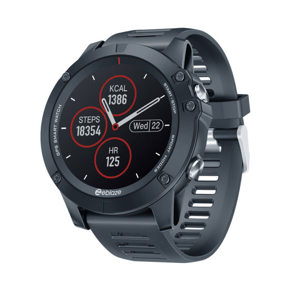 Zeblaze VIBE 3 GPS Smart Watch Men IP67 Waterproof Full Touch Smart Watch Screen Heart Rate Blood Pressure Fitness Track Sports