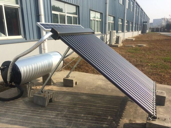 Price Negotiable! PV Powered Solar Water Heating System for Residential Hot Water