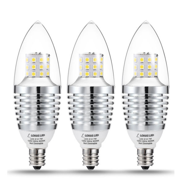 Shop For Led Candelabra Bulb E12 Base 7w 65 70 Watt