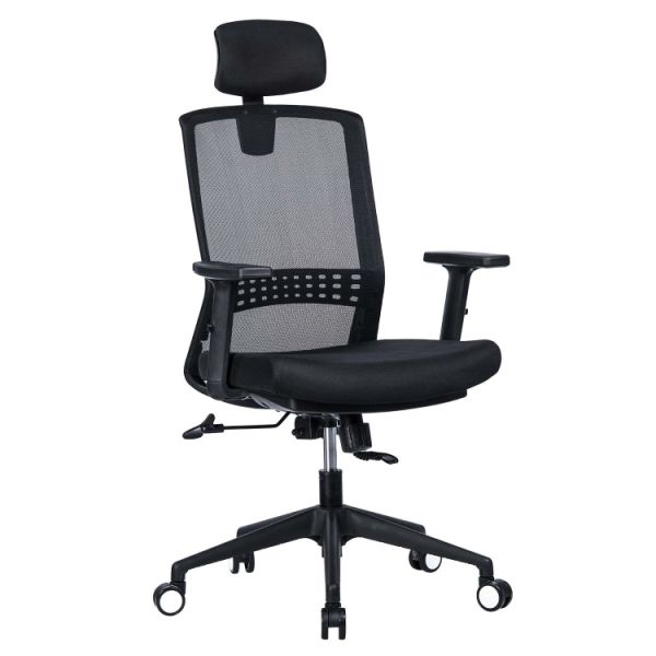 Shop For Vanbow High Back Mesh Office Chair Adjustable Headrest