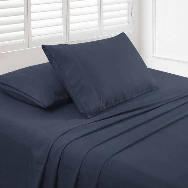 Shop For Luxe Manor 105 Gsm 4pc King Size Bed Sheet Set