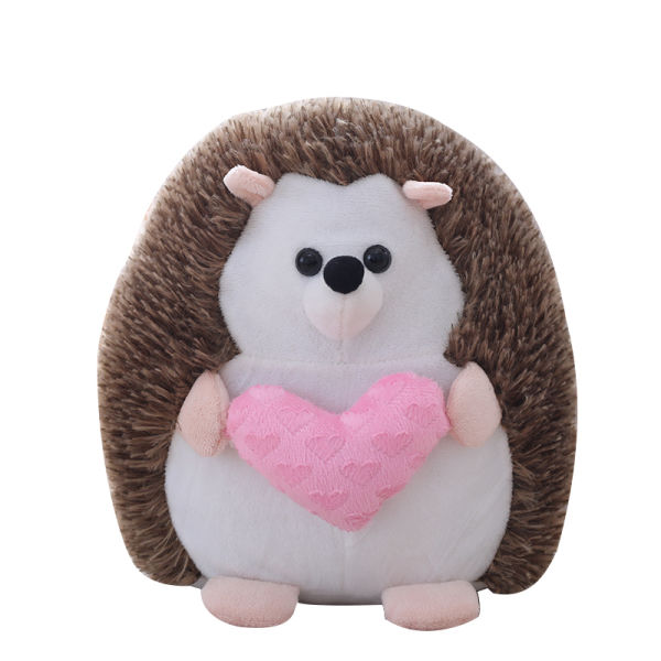 Shop For Big Stuffed Hedgehog Toys With Red Love Plush Hedgehog