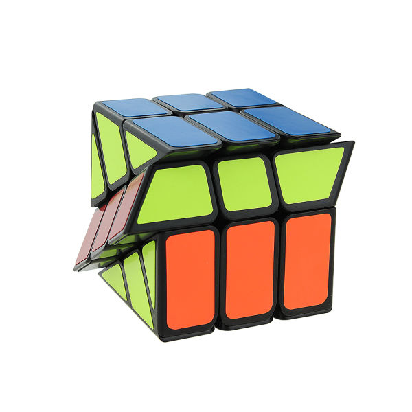 New Windmill Wheel Magic Cube Brain Teaser Color Cube Twist Speed Puzzle Sale or Gift