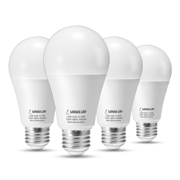 A19 Led Bulb E12 Base 13 5w 100 Watt Equivalent Daylight