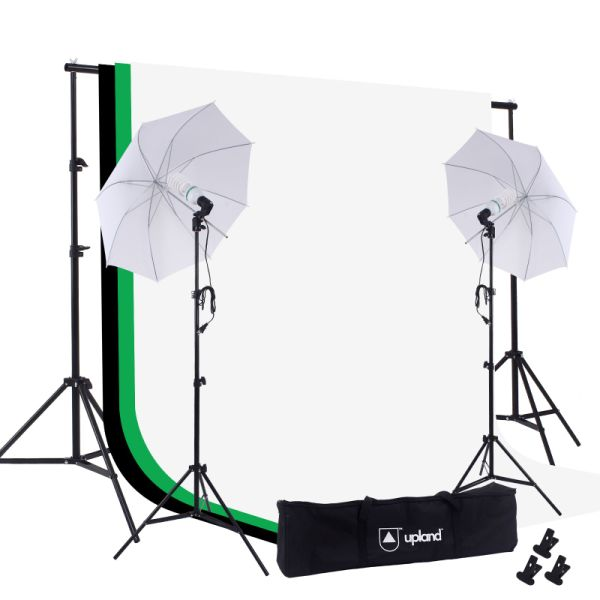c88b88df1 Umbrella Continuous Lighting Kit, 33'' Daylight Umbrella Light System with  Stands, 3