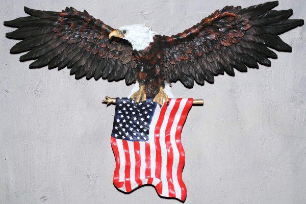 e7c4e8217bc7c Shop for 3D American Eagle Wall Sculptures
