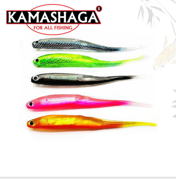New Design Soft Lure Fishing Lure Fishing Bait Soft Bait Fishing Tackle 5  Pieces / Bag