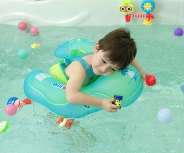 e8b66cce50 Relaxing Baby Baby Swimming Float Baby Inflatable Swimming Float Ring Kids  Swim Ring U-Shape Underarm Waist Swimming Floats for Bathtub / Swimming Pool  ...