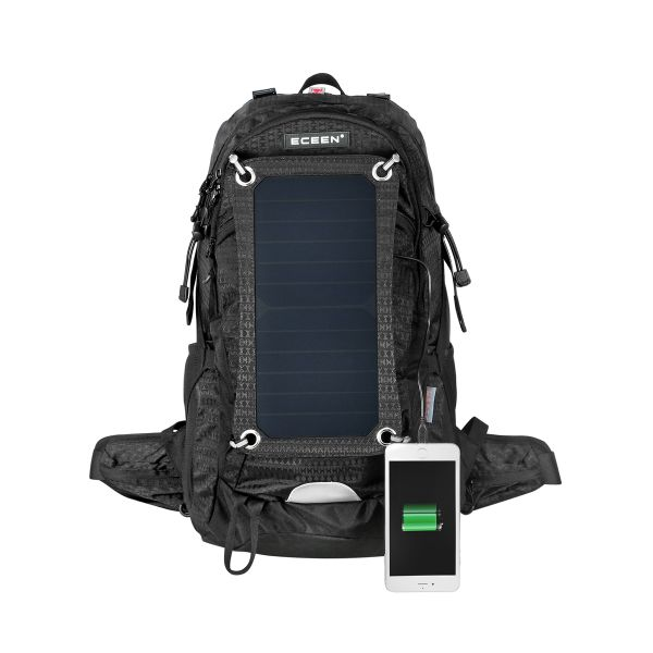 Shop For Eceen External Frame Backpack With 7 Watts Solar