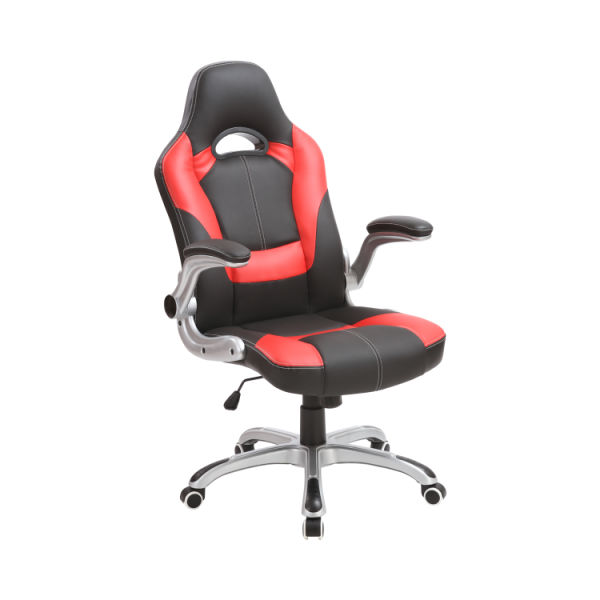 Incredible Xishe Ergonomic Adjustable Gaming Chair High Back Swivel Executive Office Chair With Flip Up Arms Red 1 Piece Carton Bralicious Painted Fabric Chair Ideas Braliciousco