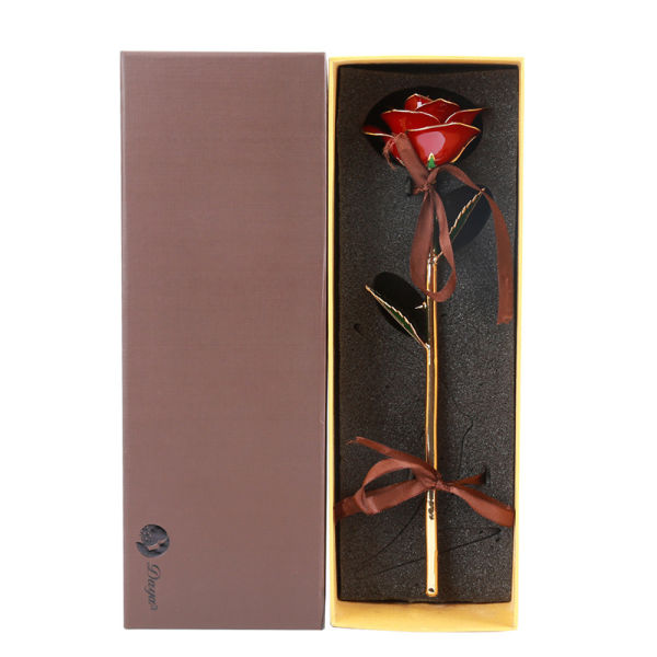 Wholesale Processing Customized Diana Red Gold Rose