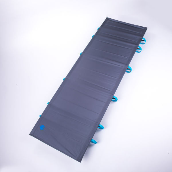 GOOD USE!! Outdoor Ultralight Folding Bed Portable Aluminium alloy Cots EAM US