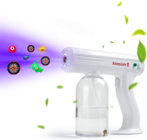School or Garden Office Handheld Rechargeable Nano Atomizer 27oz ...
