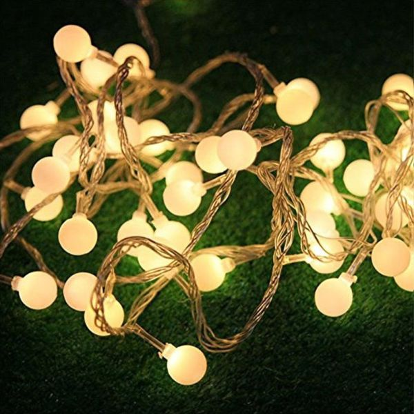 Low Voltage Christmas Lights.100 Led Globe String Lights 33ft 10m 31v Low Voltage Safety Cherry Ball Fairy Light Strings 8 Modes For Garden Home Party Wedding Christmas Lighting