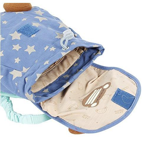 Labebe Anti-Lost Backpack for Baby/Toddler/Kids, Safety Harness School Bag Blue Bear