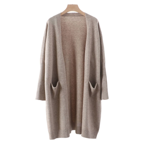 dd5c1e5a1f Zerlar Knit Cardigan Boyfriend Sweater Open Front Long Sleeve for Women  Ladies
