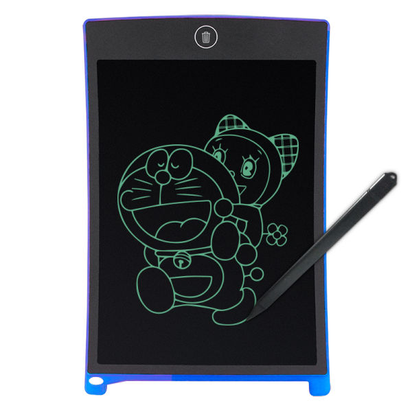Hand Writing Tablet 8.5inch Electronic LCD Writing Board/blackboard Student Practise Environmental Pad with Pen (Blue)